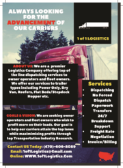 Owner Operators & Small Fleet Owners Needed